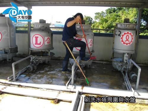 國民小學 水塔清潔保養